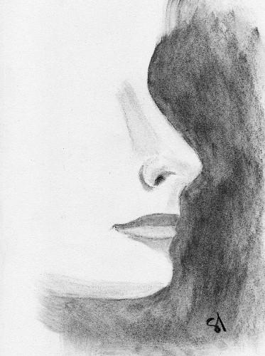 Visage profil - Visage profil dessin ...