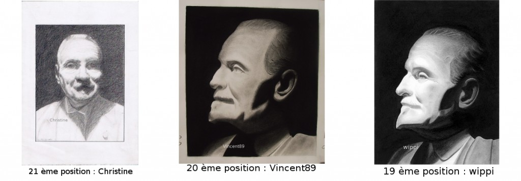 dessins 19 20 21 pour le concours de Wielemans