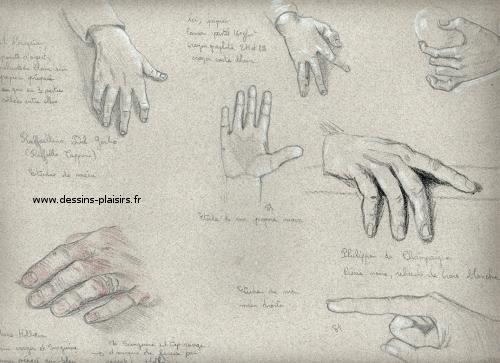 Les mains d 39 octobre - Dessin de mains ...