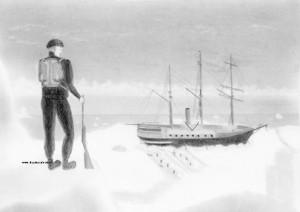 Illustration sur l'expédition de Shackleton