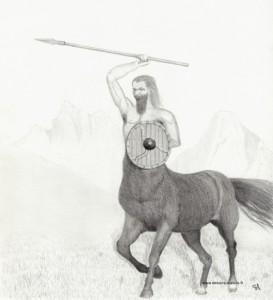 Dessins du Centaure terminé