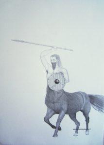 Dessin du Centaure phase 3