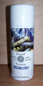 Photo d'un fixatif en spray