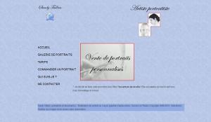 Capture d'écran de mon site portrait.dessins-plaisirs.fr