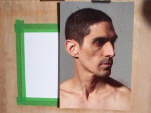 Photo d'un portrait d'homme