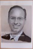 Photo du portrait à la peinture à l'huile grisaille