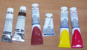 image de tubes de peinture