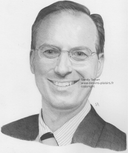 Vignette du portrait de Paul au crayon