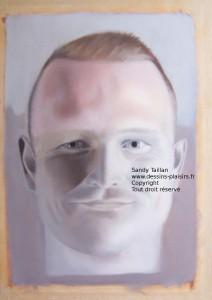 Photo du portrait d'Adrian en peinture à l'huile