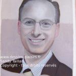 photo du portrait de Paul début de la colorisation